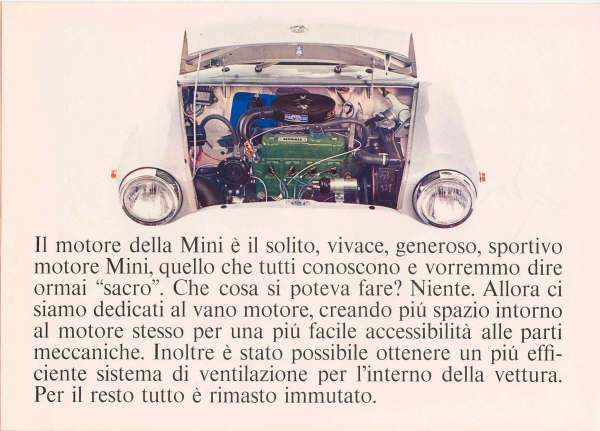 innocenti mini minor 850 mk3 1970