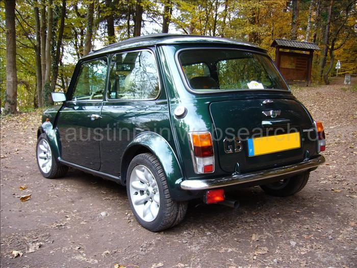 rover mini knighstbridge