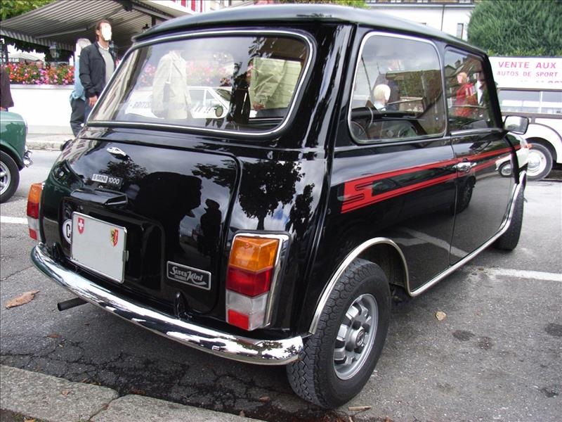 Swiss Austin Mini Super 1979