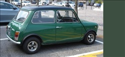 innocenti mini cooper verde medio