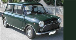 innocenti mini cooper verde scuro
